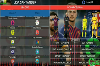 Download Fts 19 New Update Full Kits And Transfer Squad 2018