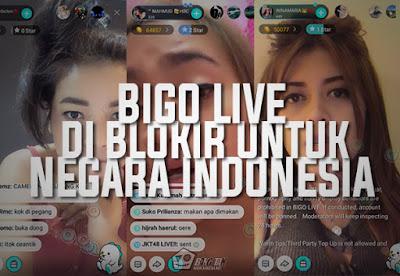 BIGO Live Diblokir Untuk Negara Indonesia