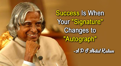 Great Dr. Abdul Kalam Bio | quotes