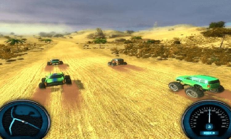تحميل لعبة سيارات سباق الصحراء Desert Race