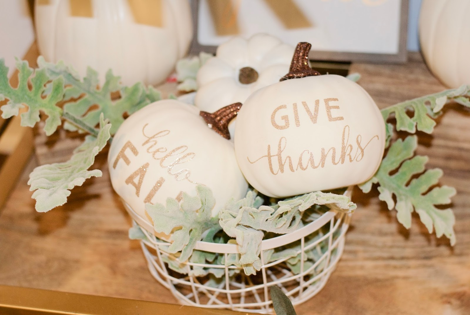 Give Thanks Bar Cart | PRETTY TWINKLE PARTY