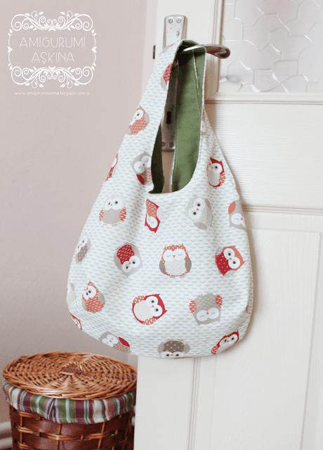 Kullanışlı ve Pratik Çift Taraflı Çanta Dikelim-Reversible Bag Tutorial