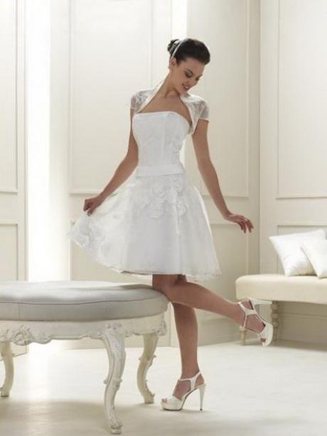 vestidos de novia cortos 2016