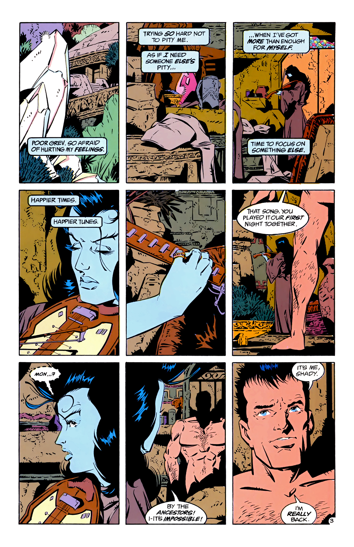Legion of Super-Heroes (1989) 4 Page 3