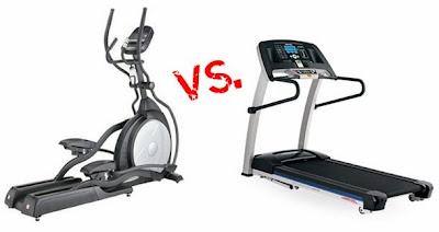 vélo elliptique ou tapis de course