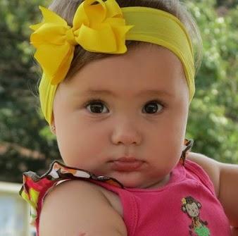 Laço para Cabelo de Bebê: Passo a Passo