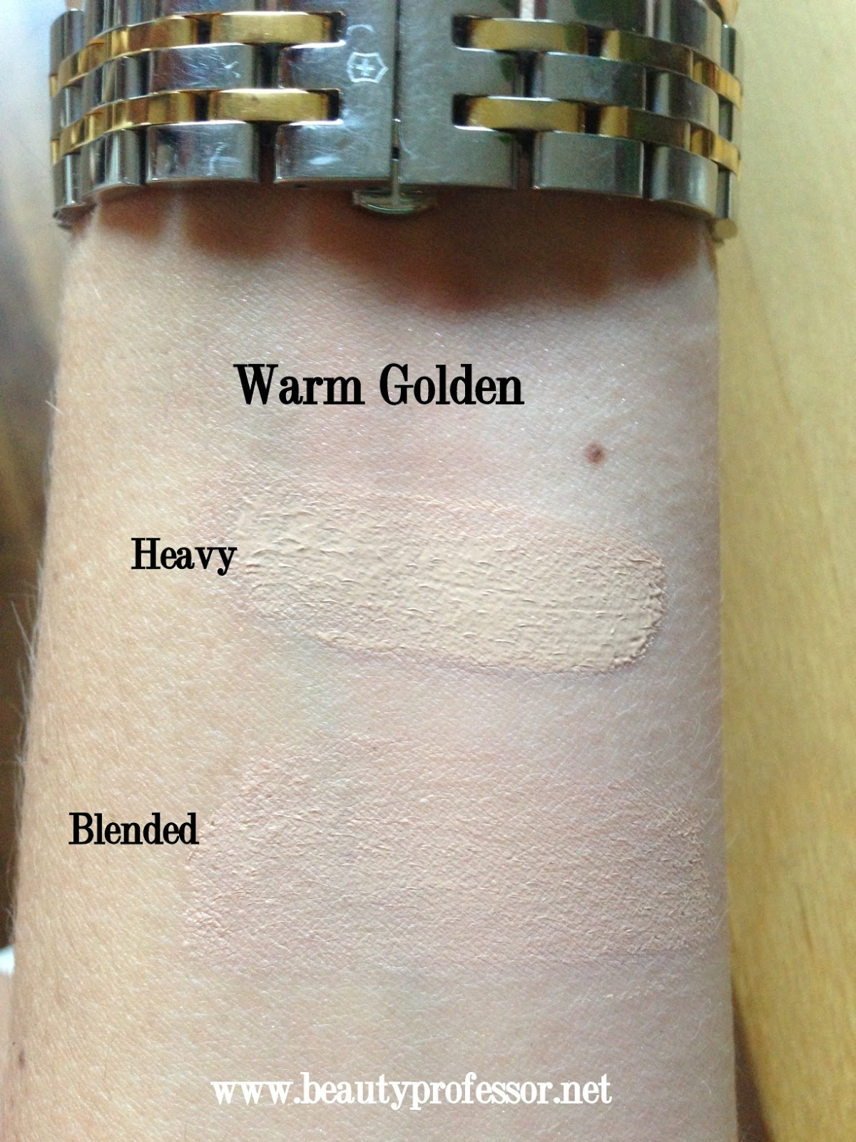 warm golden revlon