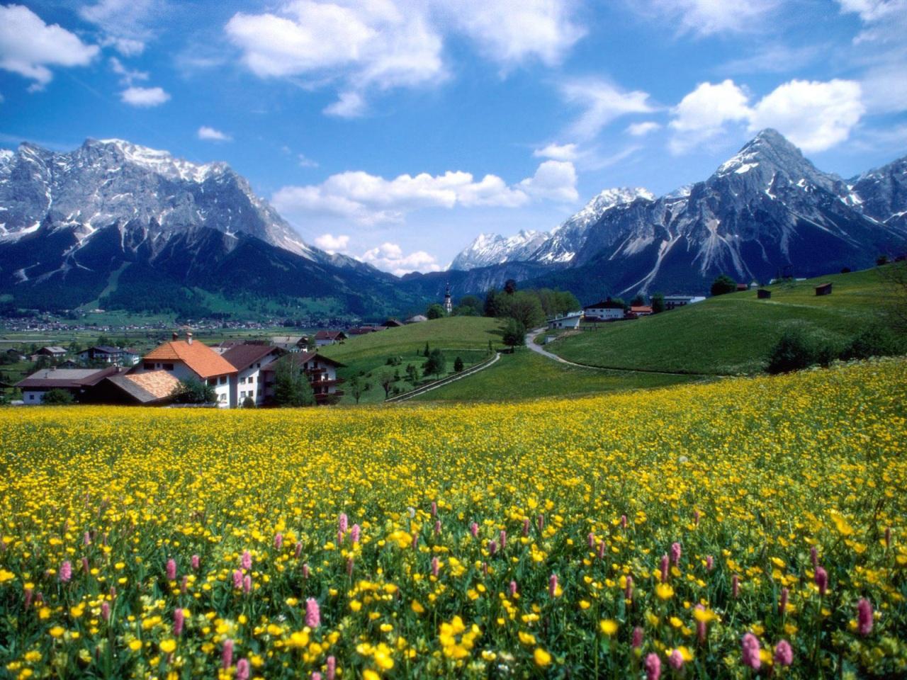 Imagenes De Paisajes De Primavera: Imágenes De Paisajes De Primavera