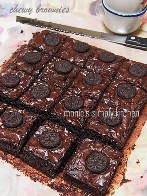 resep chewy brownies ala ala brownies kedut