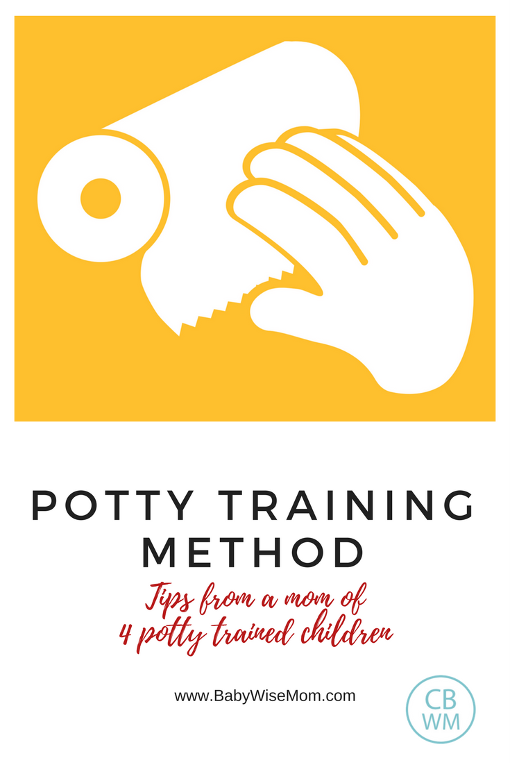 Potty Training Method: Potty Training Tips from a mom of 4 potty trained children