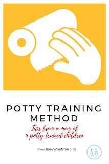 How I Potty Train My Children