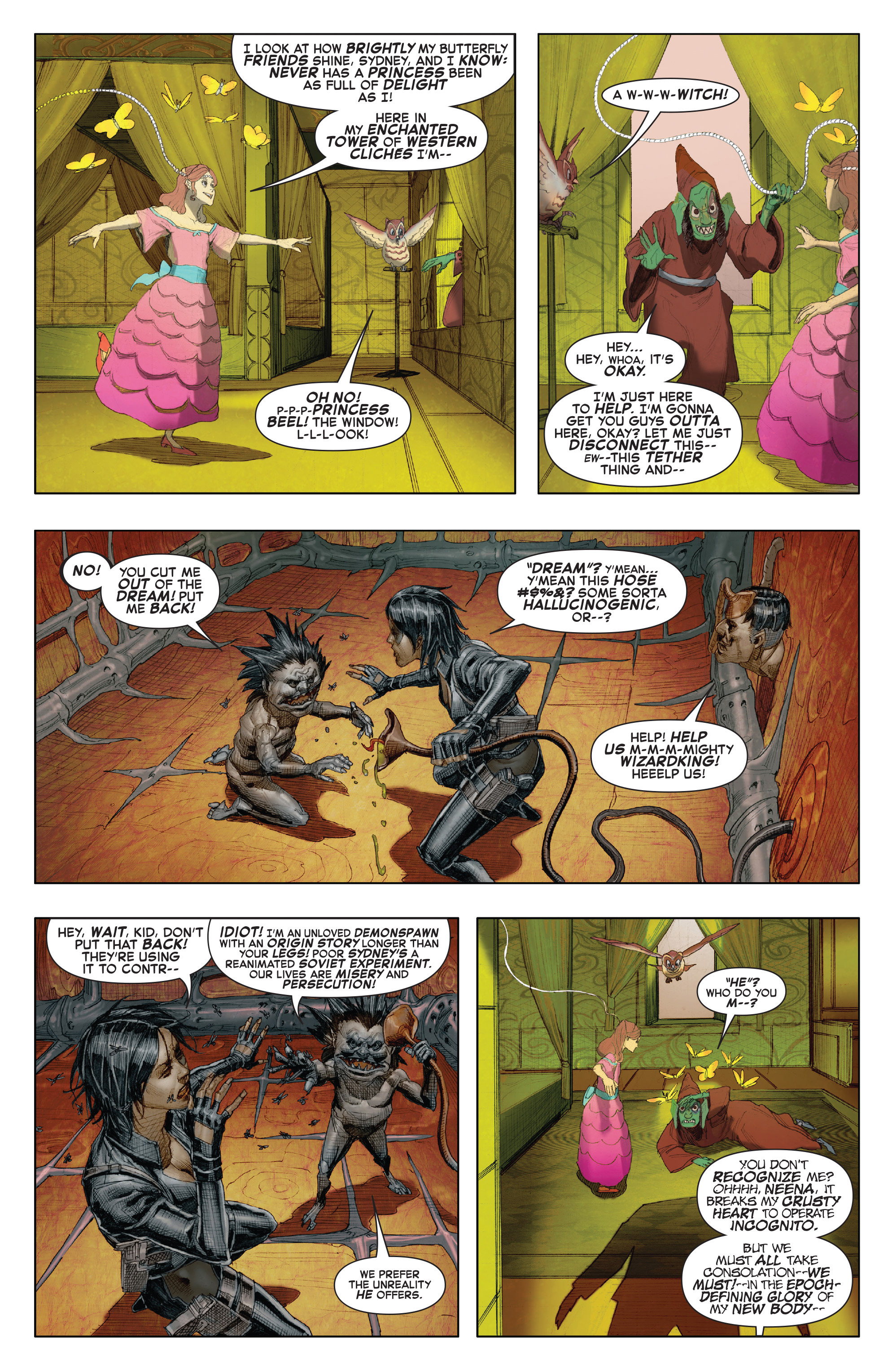 Read online X-Force (2014) comic -  Issue #7 - 11