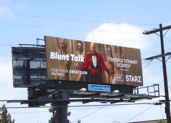 Blunt Talk Starz FYC Emmy 2016 billboard