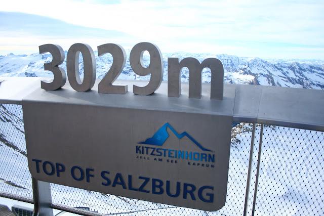 Top of Salzburg! Direkt am Kitzsteinhorn ist die schönste Aussichtsplattform von ganz Salzburg © diekremserin on the go