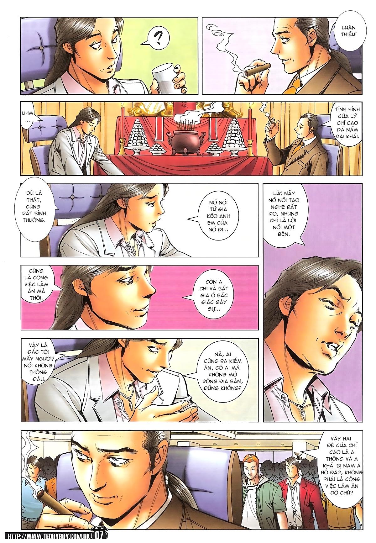 Người Trong Giang Hồ - Ngũ Hổ qui thiên - Chapter 1718: Đàm phán siêu cấp 4 - Pic 6