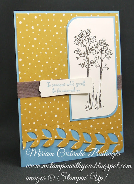 Miriam Castanho-Bollinger, #mstampinwithyou, stampin up, demonstrator, dsc, masculine, all occasions card, in the meadow, botanical builder framelits, big shot, going places dsp, modern label punch, su