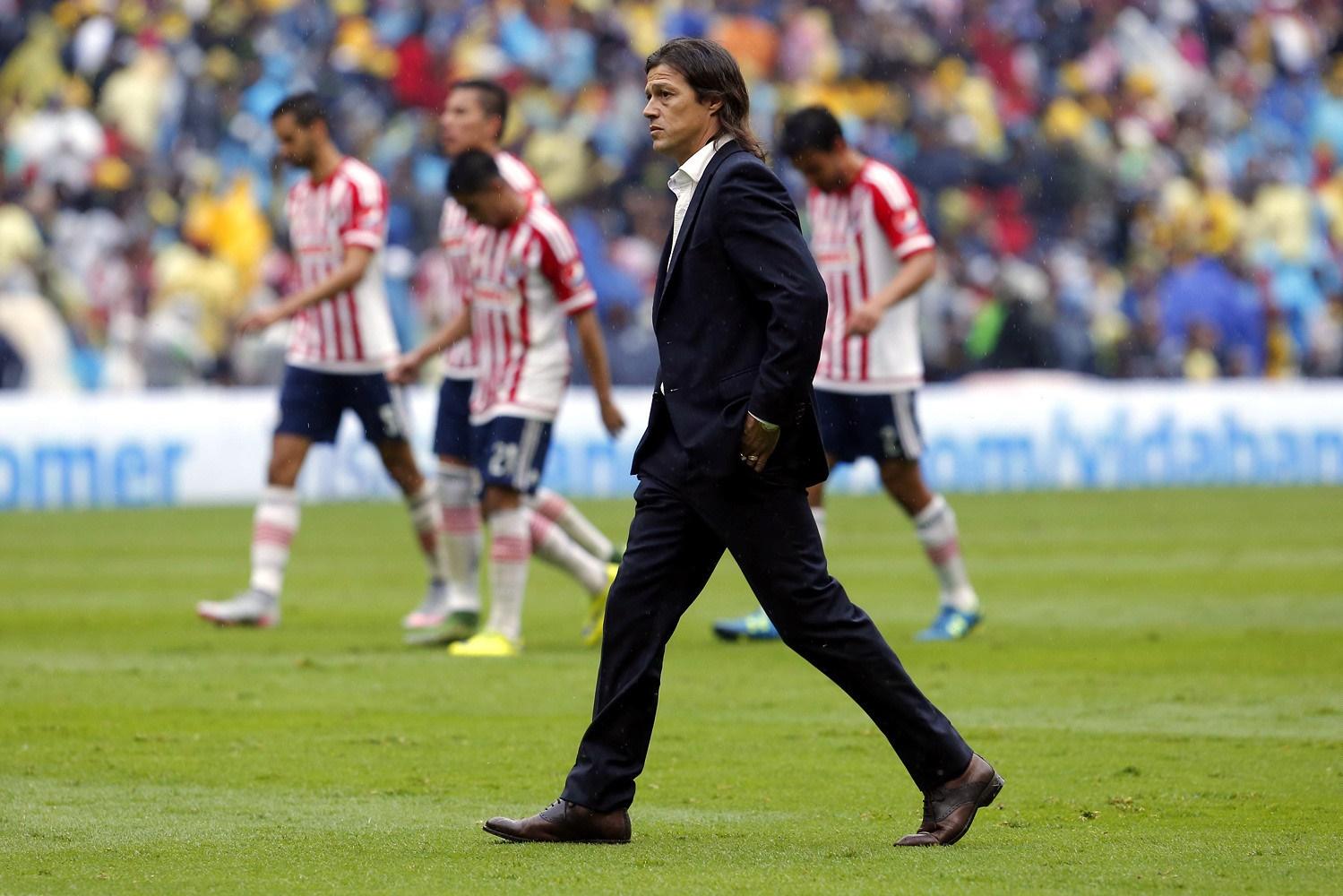 Matías Almeyda, técnico de Chivas.