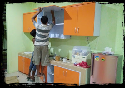 Pembuatan kitchen set kediri, kitchen set modern kediri, jasa kitchen set