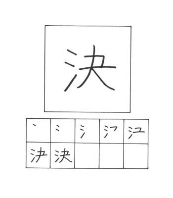 kanji keputusan