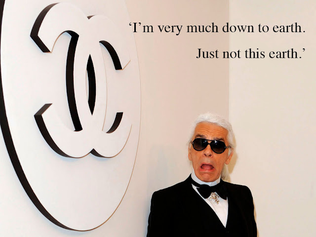 Karl Lagerfeld for Runway Magazine