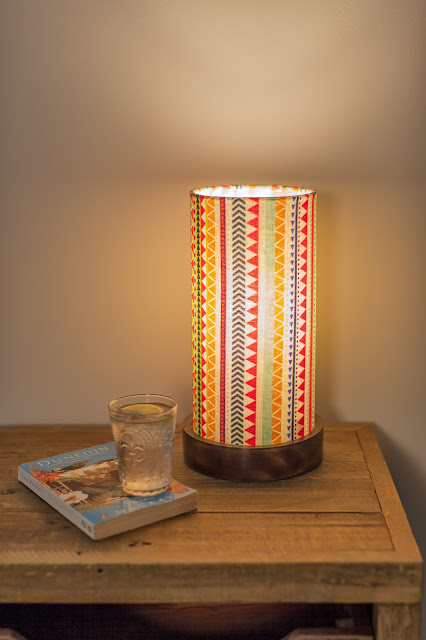 Aztec Table Lamps