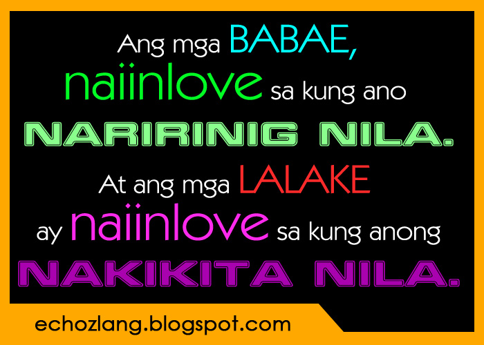 Love Quotes Tagalog: Love Quotes Tagalog Patama Sa Ex