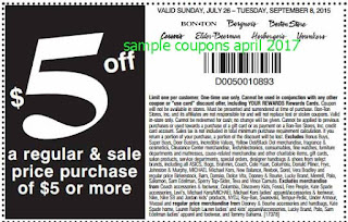 Carson Pirie Scott coupons for april 2017