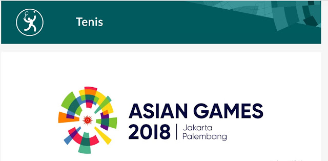 asian games 2018, cabang olahraga tenis