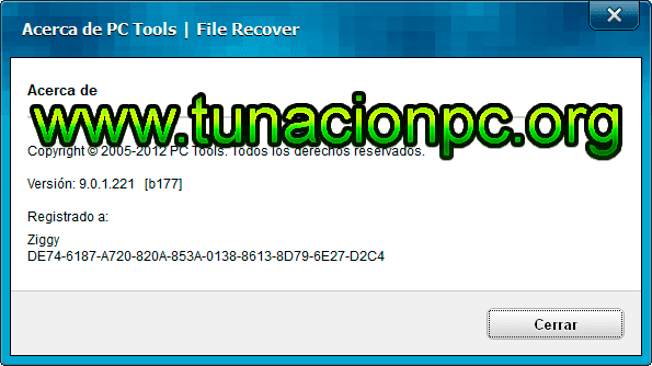 PC Tools File Recover Final Version