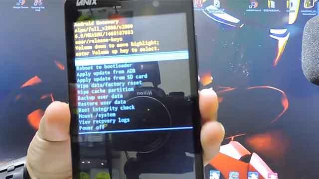 hard reset el teléfono Lanix Ilium LT510