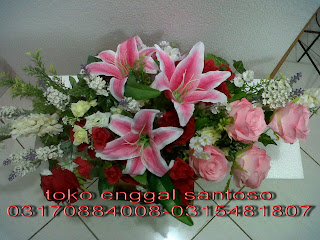 bunga meja (bouquet bunga meja artificial)