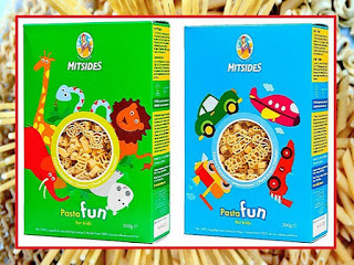 Ζυμαρικά για παιδιά με φιγούρες παιχνιδιών - από «Τα φαγητά της γιαγιάς»
