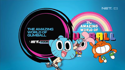 The Amazing World Of Gumball di NET Toon