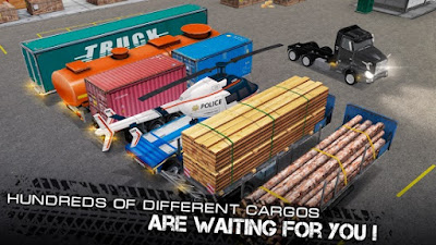 World of Truck Simulator Mod Apk v1.0.8.5 Build Your Own Cargo Empire (Unlimited Money) - JemberSantri