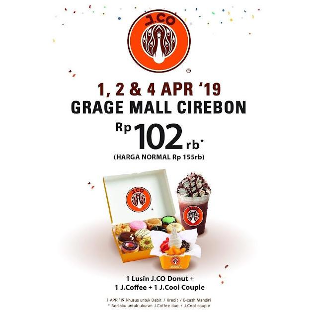 #JCO - #Promo Harga Heboh di JCO Bintaro Exchange Mall & Grage Mall Cirebon