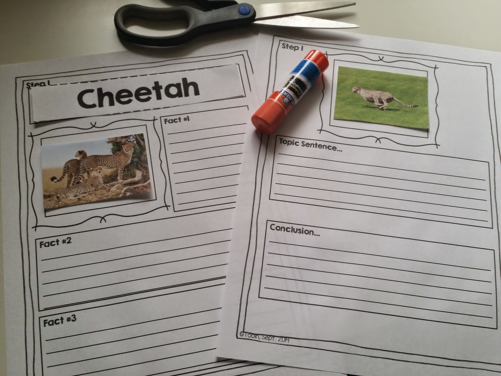 Interactive Writing Activities For First Grade