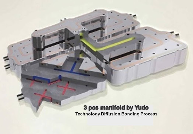 3 pcs Manifold by Yudo