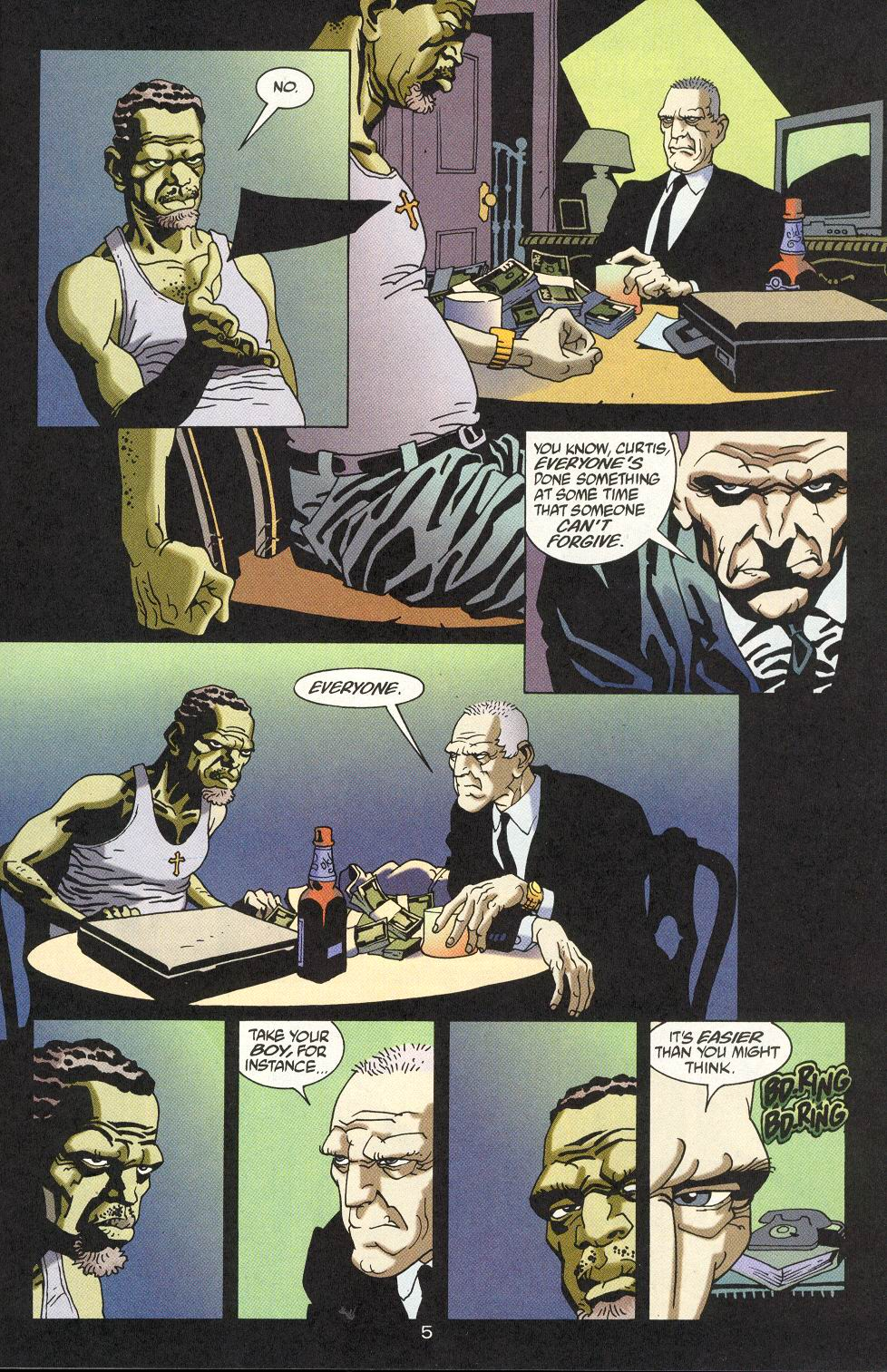 100 Bullets 17 Page 6