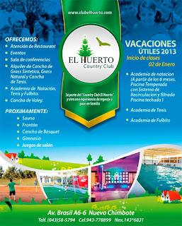 El Huerto Country Club – Nuevo Chimbote