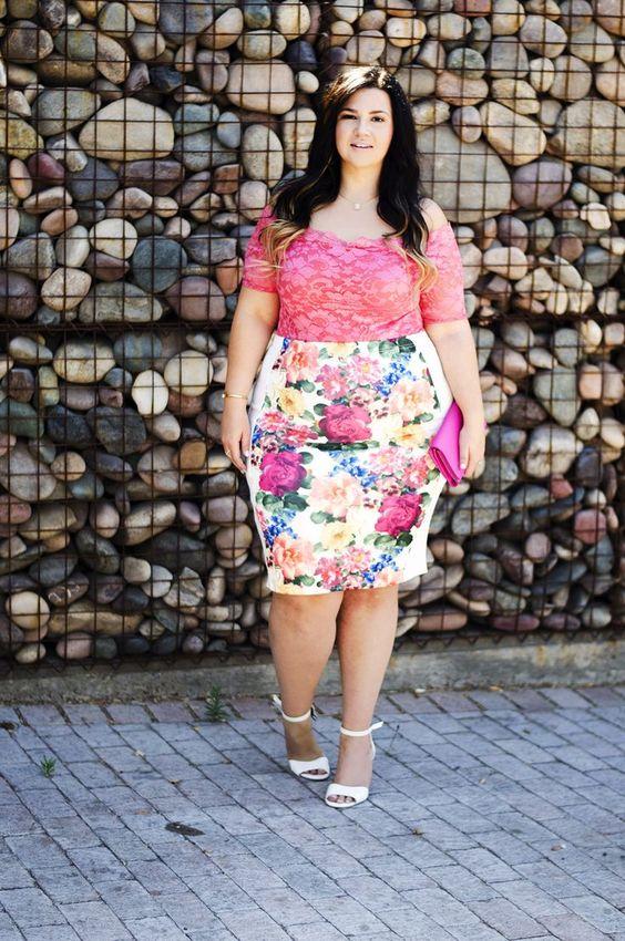 fbfef90d476 Vestidos con estampado floral, para chicas gorditas, ¡simplemente lucen  divinos!