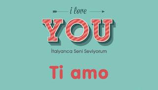 italyanca aşk sözleri