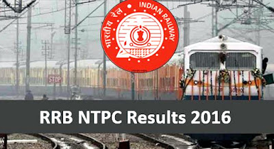 RRB NTPC 2016 1st Stage CBT Exam Results Announced, Check Region