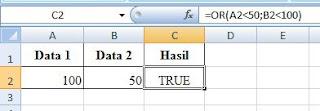 contoh data fungsi Or