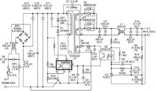 notebook power supply circuit