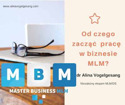 od czego zacząć biznes MLM?