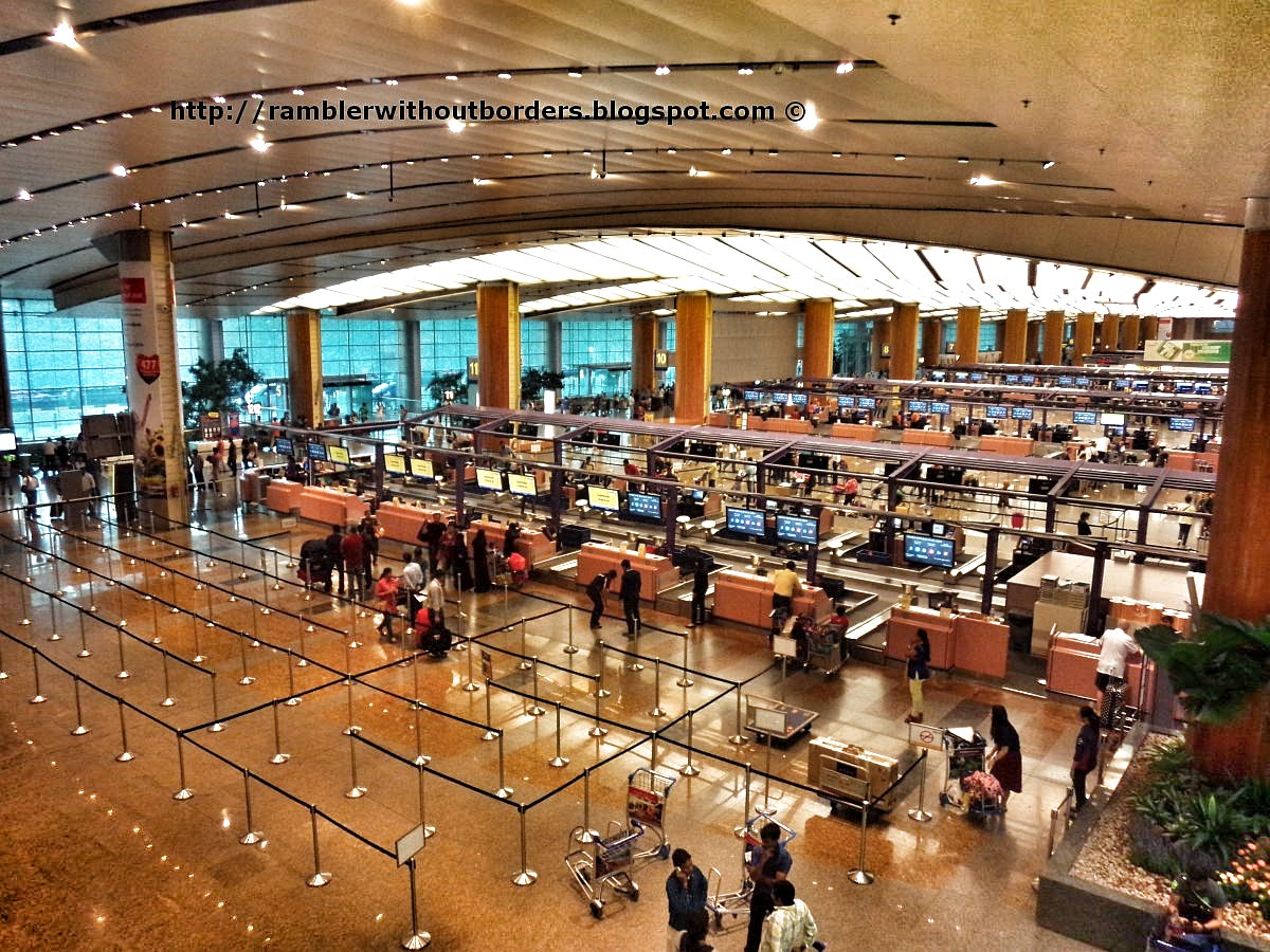 T2 Check in Concourse, Singapore Changi Airport