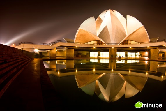 2.) Lotus Temple, India - The 19 Most Stunning Sacred Places Around the World