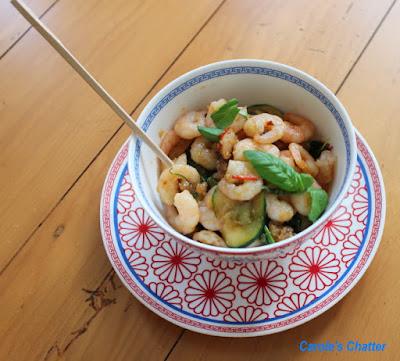 Carole's Chatter:  Peppered Prawn Stir Fry