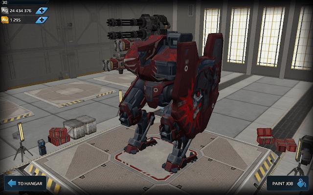 Walking War Robots best robot