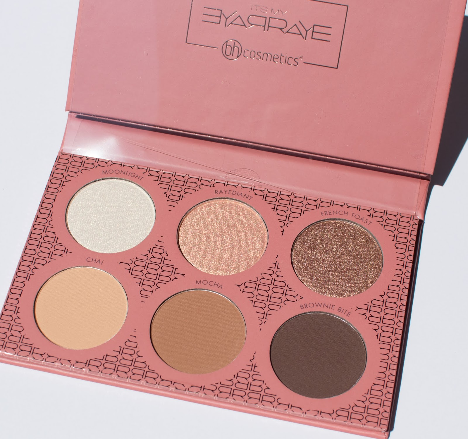 BH Cosmetics x ItsMyRayeRaye Palette - Swatches, Review, and Photos